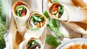 wrap groente