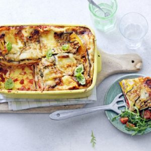 Lasagne gegrilde groente