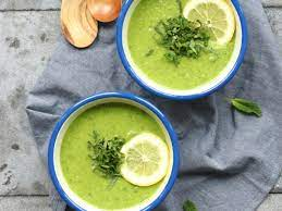 courgette soep doperwtjes
